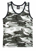 City Camo Tank Top - Faded Camo Clearance