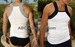Contrast Square Cut Tank Top 2 Pack - Clearance