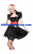 Coquette Darque Dress W/Zipper & Detachable Belt (as show)
