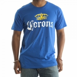 Corona T-Shirt with Distressed Logo