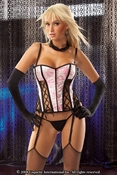 Corset Front Lace Up & G-String - Clearance