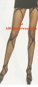Criss Cross Pantyhose