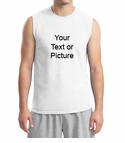 Custom Print Men's Muscle Shirt