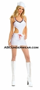 Cut Out Sides Sexy Sailor Costume - Closeout