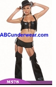 Darque Cowgirl Costume - Clearance