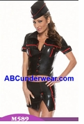 Darque Military Girl Costume