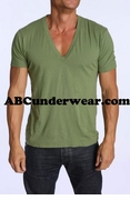Deep V Neck T-Shirt