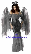 Deluxe Fallen Angel Costume