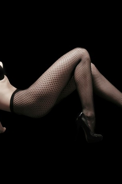Double Lattice Fishnet Pantyhose Tights