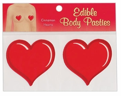 Edible Body Pasties For Her