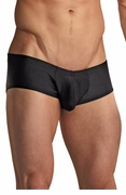 Euro Male Spandex Pouch Trunk Underwear - Black