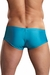 Euro Male Spandex Pouch Trunk Underwear - Turquoise