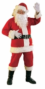 Extra Large Flannel Santa Suit