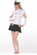 Female Ship Captain Sexy Adult Costume