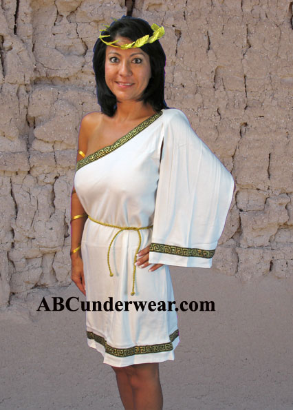 Female Toga Costume  sc 1 st  ABC Underwear & Female Toga Costume Goddes costume Roman woman