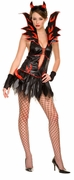 Fire Flirty Devil Costume Closeout