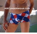 Flag News Pouch Swimsuit