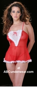 French Maid Silk Twist Lingerie