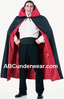Full Length Reversible Taffeta Cape