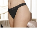 G-Thong with Lace Waistband