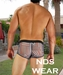 Grey Racer Pouch Trunk