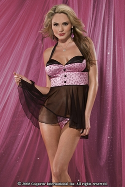 Halter Baby Doll and G-String