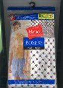 Hanes Big & Tall Full Cut Boxer 3 Pack