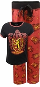 Harry Potter Women's Gryffindor 2-Piece Pajama Set