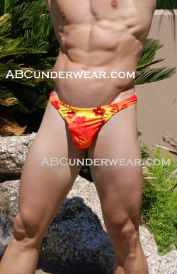 Hawaiian Sunset Wonder Thong