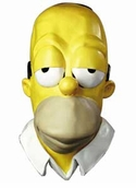 Homer Simpson Adult Vinyl Mask