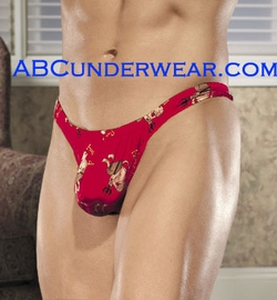 Horny Devil Silk Thong