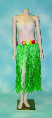 Hula Skirt with Flowers
