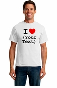 I (Heart) [blank] - Custom T-Shirt