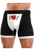I Heart You - Mens Boxer Brief Underwear