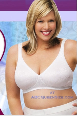 JMS Seamless Shaping Wirefree Bra White