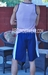 Jocko No Sweat Gym Galahad Tricolor Court Short CLOSE OUT Large