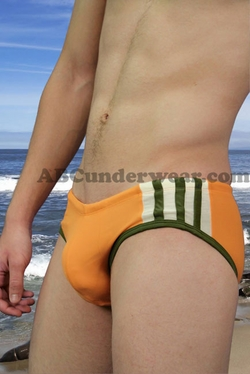 Jocko Tri-Stripe Racer Swim Brief - Clearance