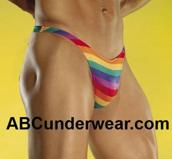 Key West Rainbow Thong