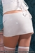 Lace Mini Skirt and PVC for women