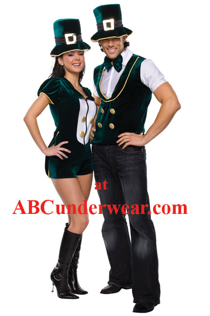 Lady Luck Costume  sc 1 st  ABC Underwear & Lady Luck Costume | Womenu0027s St Patricks day costume