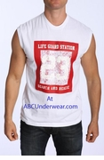 LASC Life Guard Muscle Shirt