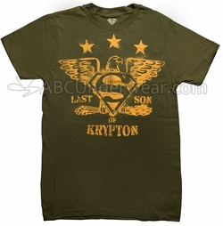 Last Son Of Kypton Superman T-Shirt
