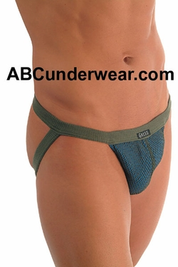 Layer Net Jock Strap