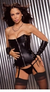 Leather Lace-up Corset
