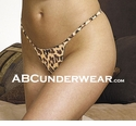 Leopard Silk Women's G-string