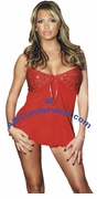 Lingerie 2-Tone Baby Doll