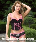 Lingerie Underwire Bustier and Panty