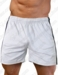LOBBO Men's Contrast Sides Athletic Gym Short