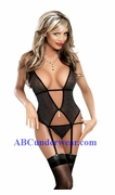 Lurex Merry Widow Lingerie