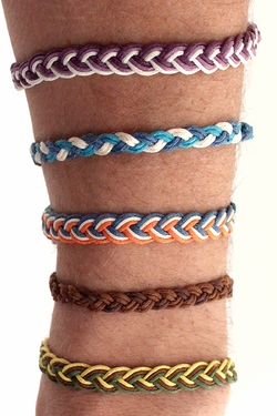 Meadow Braid Cotton Cord Bracelets